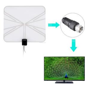 Señal Tv Antena Onda Plana Para Receptor Hd/dtc