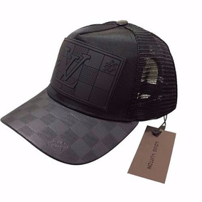 Gorra Louis Vuitton Negra Piel Envío Gratis