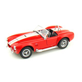 Perudiecast Welly Shelby Cobra 427 Sc 1965 Escala 1:24