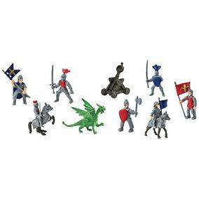 Safari Ltd 699904 Caballeros Y Dragones Toob Pintado A Mano