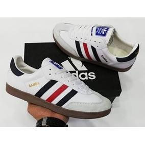 ... great deals Tenis Zapatillas adidas Samba - Blanco Negro Hombre 2018.  149.900 76049 23f20  detailed images Adidas Samba Millenium ... 877aca970