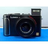 Super Compacta Camara Panasonic Dsc Lx3 Hd Completa