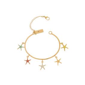 Pulsera Starfish Colors Or Desiderata Oficial
