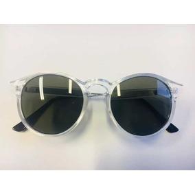 Oculos Transparente Feminino Redondo - Óculos De Sol no Mercado ... 8e8bc350a8