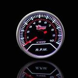 Tacometro Cuentavuelta Rpm 8mil 52mm Fantasma Picadas Tuning