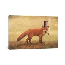 Crazy Like A Fox By Terry Fan, 26x18x.75