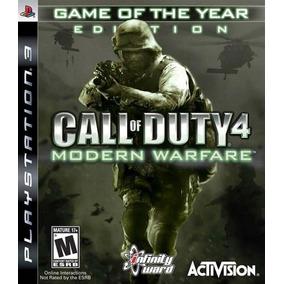 Jogo Call Of Duty 4 Modern Warfare - Ps3 - Seminovo