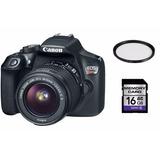 Canon T6 Lente 18-55mm Ef-s Iii +16gb + Filtro Uv
