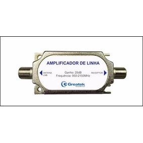 Amplificador Sinal Satélite 950-2400 Mhz Greatek N0v0!
