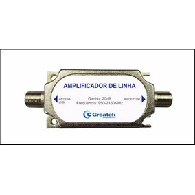 Amplificador Sinal De Satélite 950-2400 Mhz Greatek 9,90