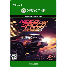 Need For Speed Payback - Deluxe - Xbox One Codigo 25 Digitos