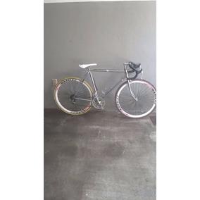 Biicicleta De Carreras Cromada Cuadro De Corazon.