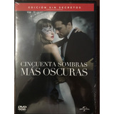 Dvd 50 Sombras Mas Oscuras / 50 Shades Darker / Extendida