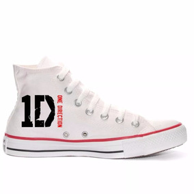 Tênis One Direction All Star Converse Branco