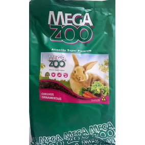 Raçao Megazoo Coelhos Ornamentais - A Granel - 2kg