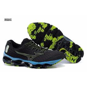 Mizuno Wave Prophecy 4 Running Shoes Blueblackgreen