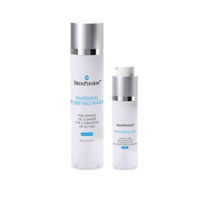 Skinpharm Whitening And Purifying Cleanser With Hq 120ml & W