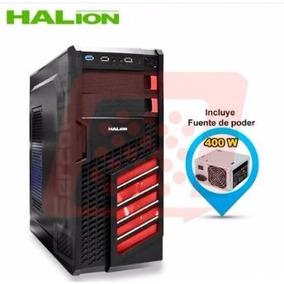 Cases Gamer Halion Scorpion 5906 400w Real - Envio Gratis