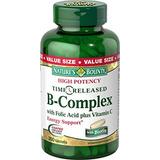 Natures Bounty B Complex With Folic Acid Plus Vitamin C T