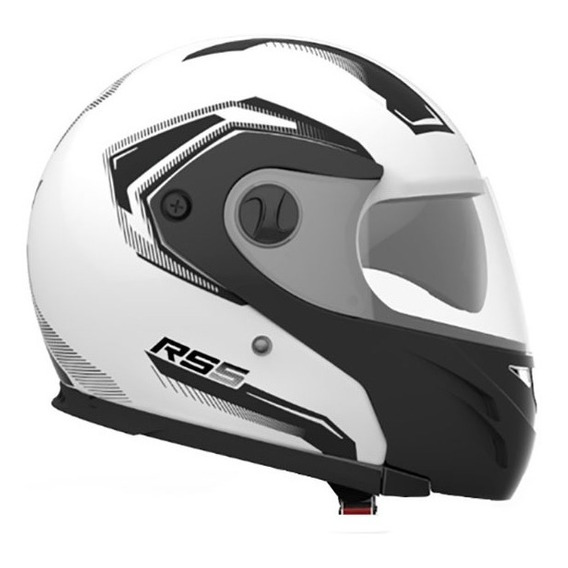 Casco Hawk Rs5 Vector Rebatible Doble Visor 2019 Cuotas