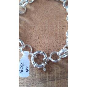 cd93c510d1e0 Pulseras De Plata Mujer Rolo U Rodinada - Joyas en Mercado Libre ...