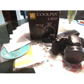 Camara Semi Reflex Nikon L810 16.1 Mp Zoom 26x 3d Excelente