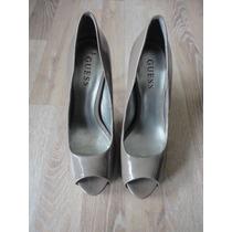 Zapatos De Charol Nude Guess