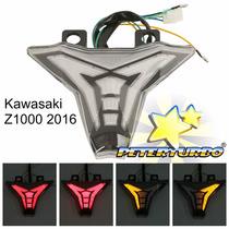 Lanterna Led Pisca Seta Integrados Kawasaki Z1000 2014 2015