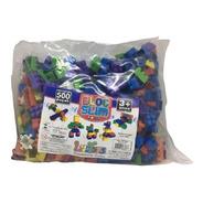 Blocos De Montar Brinquedo Educativo Encaixe C/ Lego 500 Pçs