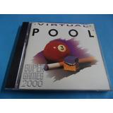 Virtual Pool Super Game 2000 Jogo De Computador Pc Cd-rom