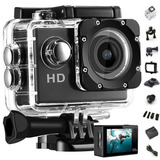 Camara Deportiva Sumergible Go Gear Pro Full Hd Lcd + Acces