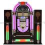 Jukebox Design Classica Retrô Vintage C/ Radio, Usb, Lcd Etc