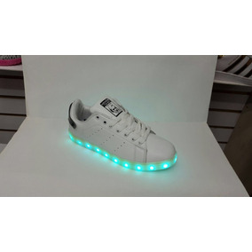 Zapatos Led adidas Stan Smith Damas, Caballeros Y Niños