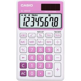 Calculadora Casio De Bolsillo 8 Digitos Mod: Sl300ncpk