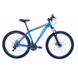 Bicicleta Aro 29 21v Cambios Shimano Freio Disco E Suspensão