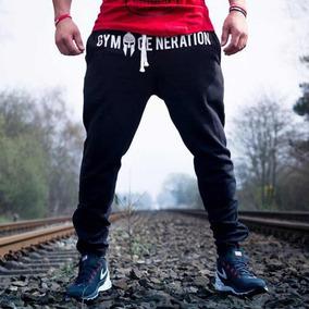 Pants Hombre Gym Body Building Jogger