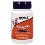 Astaxantina Importada Usa 60 Cápsulas 4mg