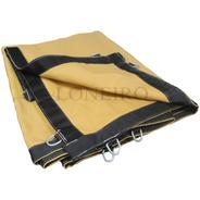 Lona Ripstop Bege Impermeável Sombra Multi-uso Shade 4 X 2,5 M Proteção Sol Chuva Granizo Tenda Tela Toldo Garagem Carro