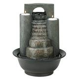 fuente de sobremesa pequeas fuentes decorativas interiore - Fuentes De Agua Decorativas