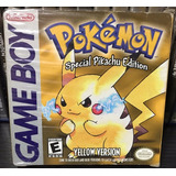 Pokemon Yellow Version Special Pikachu Edition - Game Boy