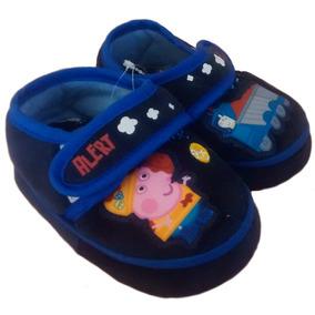 13-18.5 Pantuflas Para Bebé Y Niño De George De Peppa Pig