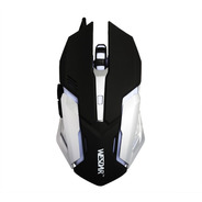 Mouse Gamer X2 Wesdar 2400dpi Pad Mouse Extralargo 60x30 Cm