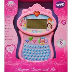 Tablet Tableta De Juguetes Para Niñas Princesas
