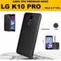 Película Vidro K10 Pro + Capa Tpu Celular Lg K10 Pro M400df