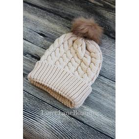 Touca Criança Gorro Touquinha Pom Pom Croche Inverno Tp1 · 3 cores d457332d95f