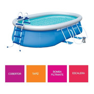 Pileta Lona Inflable 549x366 Bestway Oval 15033 Ful Completa