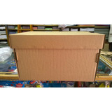 Caja Multiuso Archivo Carton Kraft 42x33x25 Con Tapa X 25