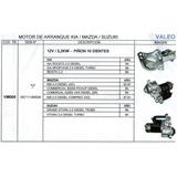 Motor De Arranque Kia Besta/mazda/suzuki 2.2 12v/2.2kw