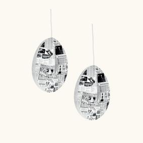 Set Lámpara Morph De Techo Fast Lamp Impresa, Set X2