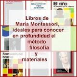 6 Libros Educativo María Montessori